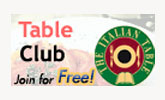 Italian Table Club - Discounts at fine restaurants and on products from the Italian Culinary Institute Store